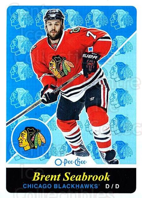 2015-16 O-pee-chee Retro #498 Brent Seabrook<br/>1 In Stock - $2.00 each - <a href=https://centericecollectibles.foxycart.com/cart?name=2015-16%20O-pee-chee%20Retro%20%23498%20Brent%20Seabrook...&quantity_max=1&price=$2.00&code=711239 class=foxycart> Buy it now! </a>