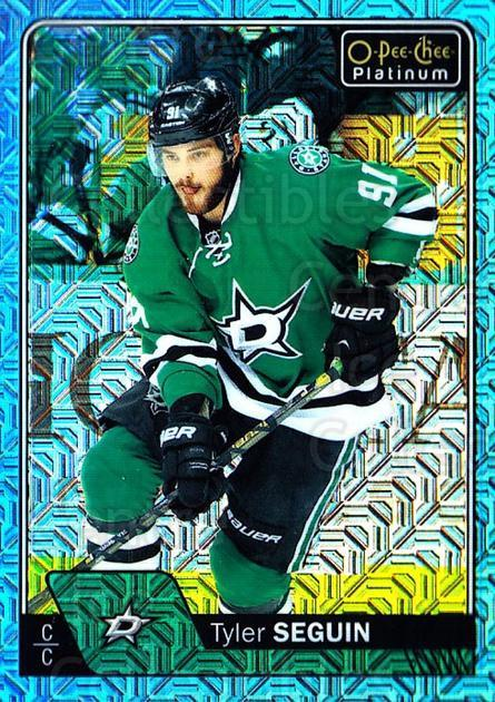 2016-17 O-Pee-Chee Platinum Ice Blue Traxx #2 Tyler Seguin<br/>1 In Stock - $3.00 each - <a href=https://centericecollectibles.foxycart.com/cart?name=2016-17%20O-Pee-Chee%20Platinum%20Ice%20Blue%20Traxx%20%232%20Tyler%20Seguin...&quantity_max=1&price=$3.00&code=711361 class=foxycart> Buy it now! </a>