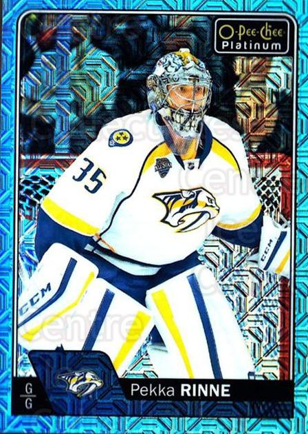 2016-17 O-Pee-Chee Platinum Ice Blue Traxx #72 Pekka Rinne<br/>1 In Stock - $3.00 each - <a href=https://centericecollectibles.foxycart.com/cart?name=2016-17%20O-Pee-Chee%20Platinum%20Ice%20Blue%20Traxx%20%2372%20Pekka%20Rinne...&quantity_max=1&price=$3.00&code=711431 class=foxycart> Buy it now! </a>