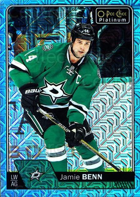2016-17 O-Pee-Chee Platinum Ice Blue Traxx #75 Jamie Benn<br/>1 In Stock - $3.00 each - <a href=https://centericecollectibles.foxycart.com/cart?name=2016-17%20O-Pee-Chee%20Platinum%20Ice%20Blue%20Traxx%20%2375%20Jamie%20Benn...&quantity_max=1&price=$3.00&code=711434 class=foxycart> Buy it now! </a>