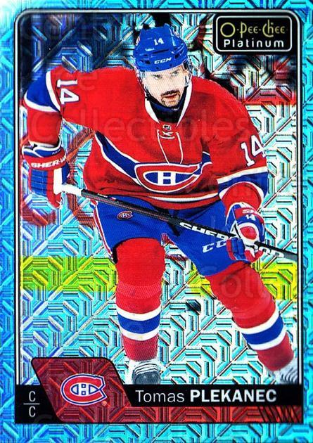 2016-17 O-Pee-Chee Platinum Ice Blue Traxx #81 Tomas Plekanec<br/>1 In Stock - $3.00 each - <a href=https://centericecollectibles.foxycart.com/cart?name=2016-17%20O-Pee-Chee%20Platinum%20Ice%20Blue%20Traxx%20%2381%20Tomas%20Plekanec...&quantity_max=1&price=$3.00&code=711440 class=foxycart> Buy it now! </a>