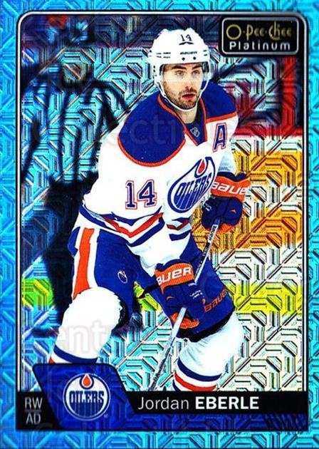 2016-17 O-Pee-Chee Platinum Ice Blue Traxx #104 Jordan Eberle<br/>1 In Stock - $3.00 each - <a href=https://centericecollectibles.foxycart.com/cart?name=2016-17%20O-Pee-Chee%20Platinum%20Ice%20Blue%20Traxx%20%23104%20Jordan%20Eberle...&quantity_max=1&price=$3.00&code=711463 class=foxycart> Buy it now! </a>