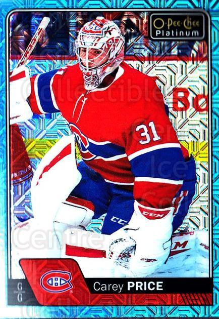 2016-17 O-Pee-Chee Platinum Ice Blue Traxx #125 Carey Price<br/>1 In Stock - $10.00 each - <a href=https://centericecollectibles.foxycart.com/cart?name=2016-17%20O-Pee-Chee%20Platinum%20Ice%20Blue%20Traxx%20%23125%20Carey%20Price...&price=$10.00&code=711484 class=foxycart> Buy it now! </a>