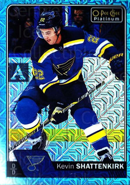 2016-17 O-Pee-Chee Platinum Ice Blue Traxx #147 Kevin Shattenkirk<br/>1 In Stock - $3.00 each - <a href=https://centericecollectibles.foxycart.com/cart?name=2016-17%20O-Pee-Chee%20Platinum%20Ice%20Blue%20Traxx%20%23147%20Kevin%20Shattenki...&quantity_max=1&price=$3.00&code=711506 class=foxycart> Buy it now! </a>