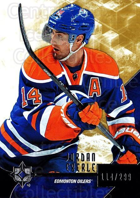 2014-15 UD Ultimate Collection #1 Jordan Eberle<br/>1 In Stock - $5.00 each - <a href=https://centericecollectibles.foxycart.com/cart?name=2014-15%20UD%20Ultimate%20Collection%20%231%20Jordan%20Eberle...&quantity_max=1&price=$5.00&code=711560 class=foxycart> Buy it now! </a>
