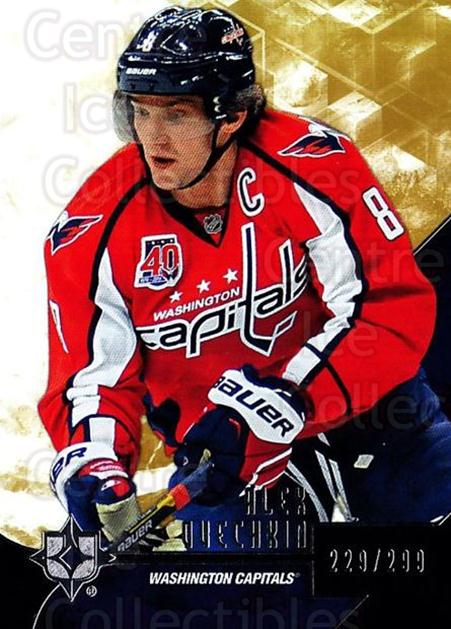 2014-15 UD Ultimate Collection #22 Alexander Ovechkin<br/>1 In Stock - $5.00 each - <a href=https://centericecollectibles.foxycart.com/cart?name=2014-15%20UD%20Ultimate%20Collection%20%2322%20Alexander%20Ovech...&price=$5.00&code=711581 class=foxycart> Buy it now! </a>