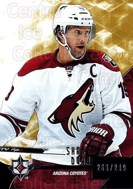 2014-15 UD Ultimate Collection #31 Shane Doan<br/>1 In Stock - $5.00 each - <a href=https://centericecollectibles.foxycart.com/cart?name=2014-15%20UD%20Ultimate%20Collection%20%2331%20Shane%20Doan...&quantity_max=1&price=$5.00&code=711590 class=foxycart> Buy it now! </a>