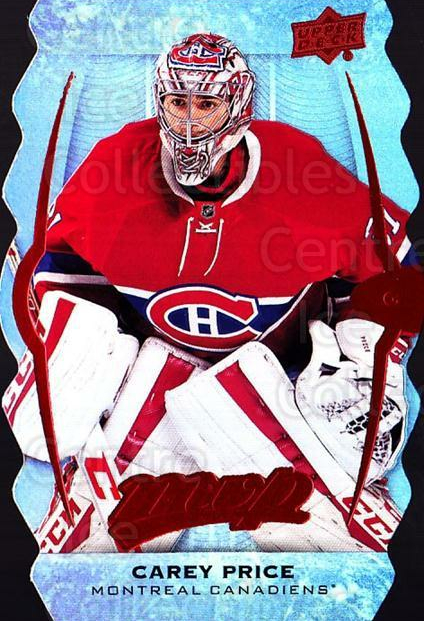 2016-17 Upper Deck MVP Colors and Contours #204 Carey Price<br/>1 In Stock - $20.00 each - <a href=https://centericecollectibles.foxycart.com/cart?name=2016-17%20Upper%20Deck%20MVP%20Colors%20and%20Contours%20%23204%20Carey%20Price...&price=$20.00&code=711721 class=foxycart> Buy it now! </a>