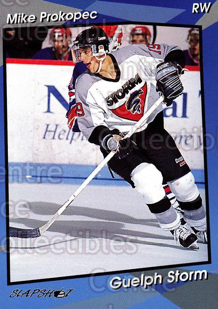 1993-94 Guelph Storm #16 Mike Prokopec<br/>7 In Stock - $3.00 each - <a href=https://centericecollectibles.foxycart.com/cart?name=1993-94%20Guelph%20Storm%20%2316%20Mike%20Prokopec...&quantity_max=7&price=$3.00&code=7118 class=foxycart> Buy it now! </a>