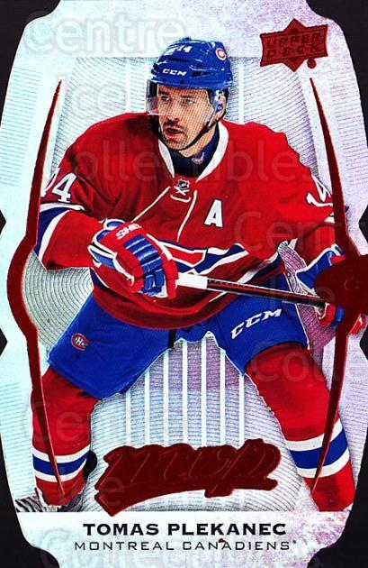2016-17 Upper Deck MVP Colors and Contours #194 Tomas Plekanec<br/>1 In Stock - $5.00 each - <a href=https://centericecollectibles.foxycart.com/cart?name=2016-17%20Upper%20Deck%20MVP%20Colors%20and%20Contours%20%23194%20Tomas%20Plekanec...&quantity_max=1&price=$5.00&code=711953 class=foxycart> Buy it now! </a>