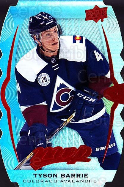 2016-17 Upper Deck MVP Colors and Contours #75 Tyson Barrie<br/>1 In Stock - $5.00 each - <a href=https://centericecollectibles.foxycart.com/cart?name=2016-17%20Upper%20Deck%20MVP%20Colors%20and%20Contours%20%2375%20Tyson%20Barrie...&quantity_max=1&price=$5.00&code=711997 class=foxycart> Buy it now! </a>