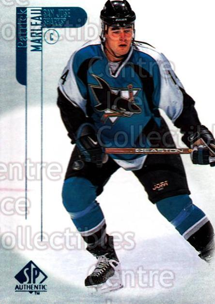 1998-99 Sp Authentic #75 Patrick Marleau<br/>9 In Stock - $1.00 each - <a href=https://centericecollectibles.foxycart.com/cart?name=1998-99%20Sp%20Authentic%20%2375%20Patrick%20Marleau...&quantity_max=9&price=$1.00&code=71210 class=foxycart> Buy it now! </a>