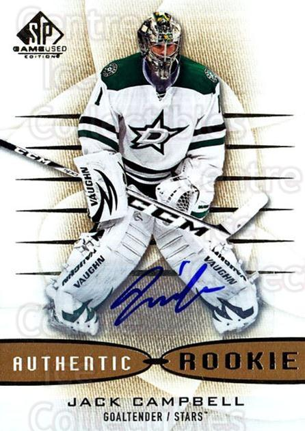 2013-14 Sp Game Used Gold Autographs #164 Jack Campbell<br/>1 In Stock - $10.00 each - <a href=https://centericecollectibles.foxycart.com/cart?name=2013-14%20Sp%20Game%20Used%20Gold%20Autographs%20%23164%20Jack%20Campbell...&quantity_max=1&price=$10.00&code=712338 class=foxycart> Buy it now! </a>