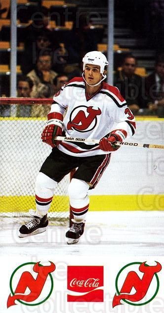 1983-84 New Jersey Devils Postcards #8 Ken Daneyko<br/>1 In Stock - $5.00 each - <a href=https://centericecollectibles.foxycart.com/cart?name=1983-84%20New%20Jersey%20Devils%20Postcards%20%238%20Ken%20Daneyko...&quantity_max=1&price=$5.00&code=712529 class=foxycart> Buy it now! </a>