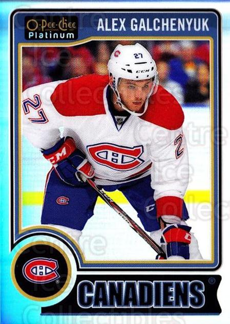 2014-15 O-Pee-Chee Platinum Rainbow #2 Alex Galchenyuk<br/>2 In Stock - $3.00 each - <a href=https://centericecollectibles.foxycart.com/cart?name=2014-15%20O-Pee-Chee%20Platinum%20Rainbow%20%232%20Alex%20Galchenyuk...&quantity_max=2&price=$3.00&code=712617 class=foxycart> Buy it now! </a>