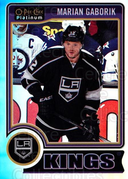 2014-15 O-Pee-Chee Platinum Rainbow #15 Marian Gaborik<br/>2 In Stock - $3.00 each - <a href=https://centericecollectibles.foxycart.com/cart?name=2014-15%20O-Pee-Chee%20Platinum%20Rainbow%20%2315%20Marian%20Gaborik...&quantity_max=2&price=$3.00&code=712630 class=foxycart> Buy it now! </a>