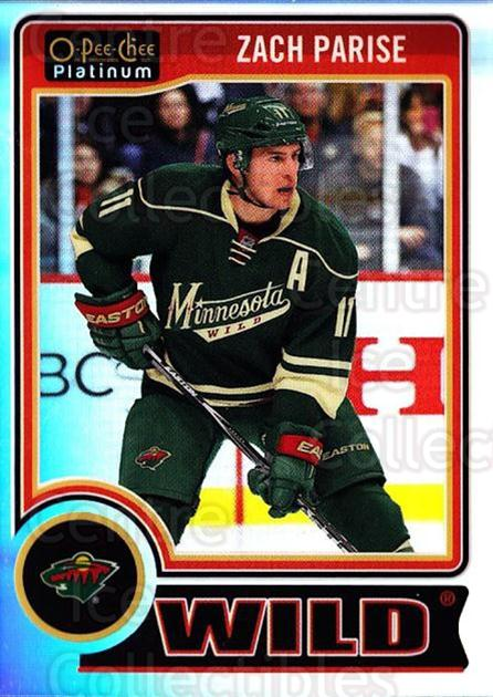 2014-15 O-Pee-Chee Platinum Rainbow #16 Zach Parise<br/>2 In Stock - $3.00 each - <a href=https://centericecollectibles.foxycart.com/cart?name=2014-15%20O-Pee-Chee%20Platinum%20Rainbow%20%2316%20Zach%20Parise...&quantity_max=2&price=$3.00&code=712631 class=foxycart> Buy it now! </a>