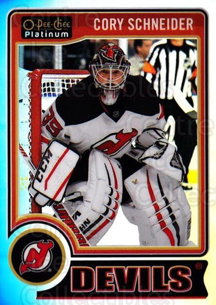 2014-15 O-Pee-Chee Platinum Rainbow #31 Cory Schneider<br/>2 In Stock - $3.00 each - <a href=https://centericecollectibles.foxycart.com/cart?name=2014-15%20O-Pee-Chee%20Platinum%20Rainbow%20%2331%20Cory%20Schneider...&quantity_max=2&price=$3.00&code=712646 class=foxycart> Buy it now! </a>