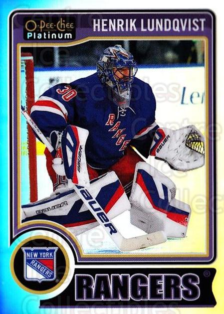 2014-15 O-Pee-Chee Platinum Rainbow #37 Henrik Lundqvist<br/>1 In Stock - $5.00 each - <a href=https://centericecollectibles.foxycart.com/cart?name=2014-15%20O-Pee-Chee%20Platinum%20Rainbow%20%2337%20Henrik%20Lundqvis...&quantity_max=1&price=$5.00&code=712652 class=foxycart> Buy it now! </a>