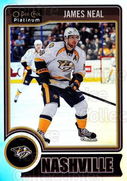 2014-15 O-Pee-Chee Platinum Rainbow #39 James Neal<br/>2 In Stock - $3.00 each - <a href=https://centericecollectibles.foxycart.com/cart?name=2014-15%20O-Pee-Chee%20Platinum%20Rainbow%20%2339%20James%20Neal...&quantity_max=2&price=$3.00&code=712654 class=foxycart> Buy it now! </a>