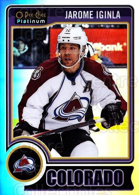 2014-15 O-Pee-Chee Platinum Rainbow #45 Jarome Iginla<br/>2 In Stock - $3.00 each - <a href=https://centericecollectibles.foxycart.com/cart?name=2014-15%20O-Pee-Chee%20Platinum%20Rainbow%20%2345%20Jarome%20Iginla...&quantity_max=2&price=$3.00&code=712660 class=foxycart> Buy it now! </a>