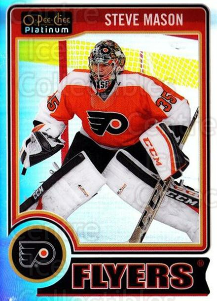 2014-15 O-Pee-Chee Platinum Rainbow #46 Steve Mason<br/>1 In Stock - $3.00 each - <a href=https://centericecollectibles.foxycart.com/cart?name=2014-15%20O-Pee-Chee%20Platinum%20Rainbow%20%2346%20Steve%20Mason...&quantity_max=1&price=$3.00&code=712661 class=foxycart> Buy it now! </a>