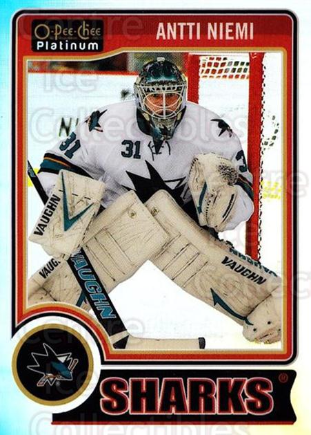 2014-15 O-Pee-Chee Platinum Rainbow #53 Antti Niemi<br/>2 In Stock - $3.00 each - <a href=https://centericecollectibles.foxycart.com/cart?name=2014-15%20O-Pee-Chee%20Platinum%20Rainbow%20%2353%20Antti%20Niemi...&quantity_max=2&price=$3.00&code=712668 class=foxycart> Buy it now! </a>
