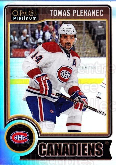 2014-15 O-Pee-Chee Platinum Rainbow #56 Tomas Plekanec<br/>1 In Stock - $3.00 each - <a href=https://centericecollectibles.foxycart.com/cart?name=2014-15%20O-Pee-Chee%20Platinum%20Rainbow%20%2356%20Tomas%20Plekanec...&quantity_max=1&price=$3.00&code=712671 class=foxycart> Buy it now! </a>