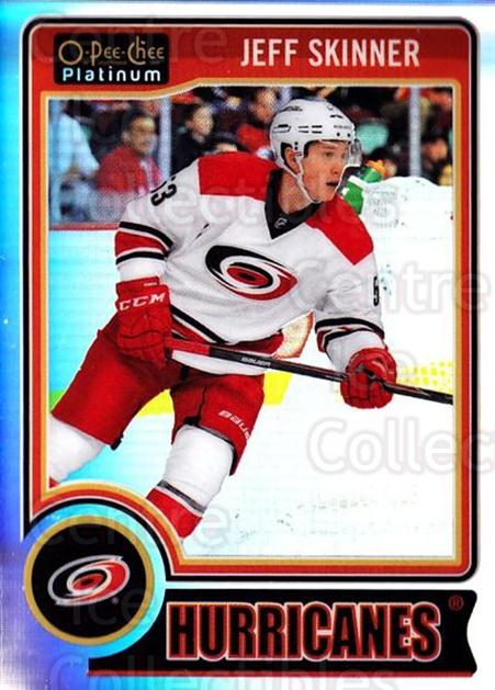 2014-15 O-Pee-Chee Platinum Rainbow #68 Jeff Skinner<br/>2 In Stock - $3.00 each - <a href=https://centericecollectibles.foxycart.com/cart?name=2014-15%20O-Pee-Chee%20Platinum%20Rainbow%20%2368%20Jeff%20Skinner...&quantity_max=2&price=$3.00&code=712683 class=foxycart> Buy it now! </a>