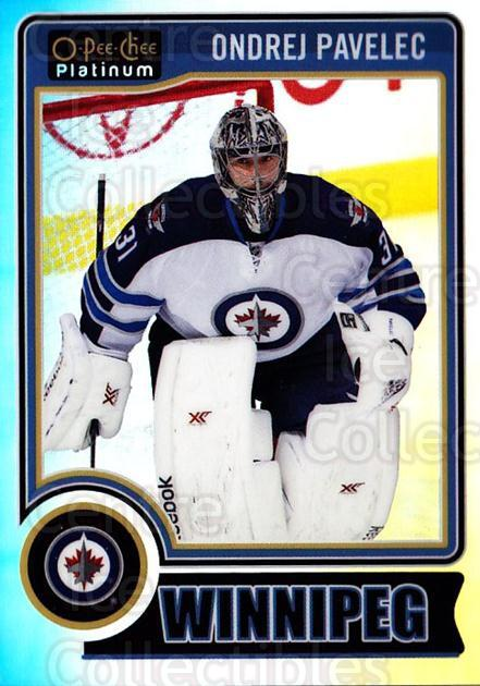 2014-15 O-Pee-Chee Platinum Rainbow #81 Ondrej Pavelec<br/>1 In Stock - $3.00 each - <a href=https://centericecollectibles.foxycart.com/cart?name=2014-15%20O-Pee-Chee%20Platinum%20Rainbow%20%2381%20Ondrej%20Pavelec...&quantity_max=1&price=$3.00&code=712696 class=foxycart> Buy it now! </a>