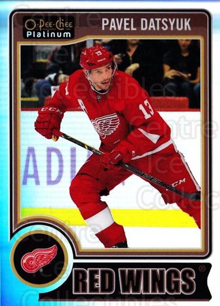 2014-15 O-Pee-Chee Platinum Rainbow #86 Pavel Datsyuk<br/>2 In Stock - $5.00 each - <a href=https://centericecollectibles.foxycart.com/cart?name=2014-15%20O-Pee-Chee%20Platinum%20Rainbow%20%2386%20Pavel%20Datsyuk...&quantity_max=2&price=$5.00&code=712701 class=foxycart> Buy it now! </a>