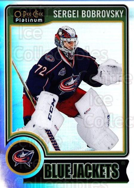 2014-15 O-Pee-Chee Platinum Rainbow #88 Sergei Bobrovsky<br/>2 In Stock - $3.00 each - <a href=https://centericecollectibles.foxycart.com/cart?name=2014-15%20O-Pee-Chee%20Platinum%20Rainbow%20%2388%20Sergei%20Bobrovsk...&quantity_max=2&price=$3.00&code=712703 class=foxycart> Buy it now! </a>