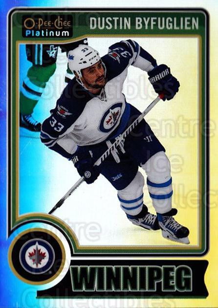 2014-15 O-Pee-Chee Platinum Rainbow #95 Dustin Byfuglien<br/>1 In Stock - $3.00 each - <a href=https://centericecollectibles.foxycart.com/cart?name=2014-15%20O-Pee-Chee%20Platinum%20Rainbow%20%2395%20Dustin%20Byfuglie...&quantity_max=1&price=$3.00&code=712710 class=foxycart> Buy it now! </a>