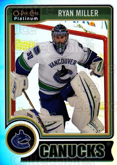 2014-15 O-Pee-Chee Platinum Rainbow #103 Ryan Miller<br/>2 In Stock - $3.00 each - <a href=https://centericecollectibles.foxycart.com/cart?name=2014-15%20O-Pee-Chee%20Platinum%20Rainbow%20%23103%20Ryan%20Miller...&quantity_max=2&price=$3.00&code=712718 class=foxycart> Buy it now! </a>