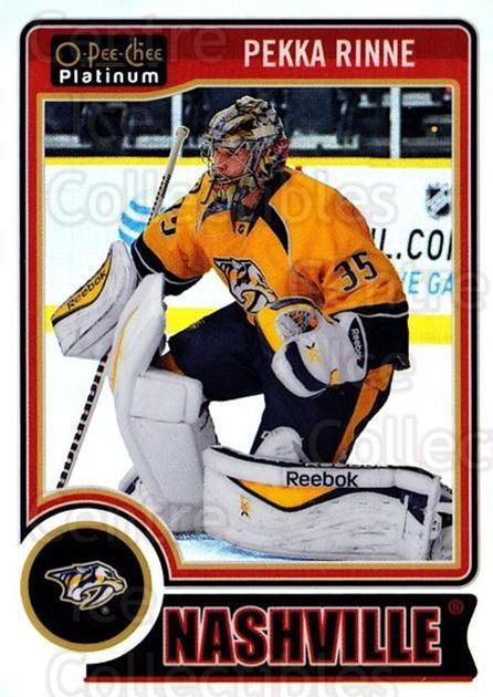2014-15 O-Pee-Chee Platinum Rainbow #121 Pekka Rinne<br/>2 In Stock - $3.00 each - <a href=https://centericecollectibles.foxycart.com/cart?name=2014-15%20O-Pee-Chee%20Platinum%20Rainbow%20%23121%20Pekka%20Rinne...&quantity_max=2&price=$3.00&code=712736 class=foxycart> Buy it now! </a>