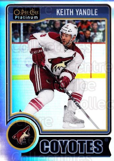 2014-15 O-Pee-Chee Platinum Rainbow #122 Keith Yandle<br/>1 In Stock - $3.00 each - <a href=https://centericecollectibles.foxycart.com/cart?name=2014-15%20O-Pee-Chee%20Platinum%20Rainbow%20%23122%20Keith%20Yandle...&quantity_max=1&price=$3.00&code=712737 class=foxycart> Buy it now! </a>