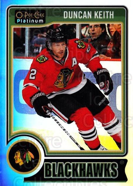 2014-15 O-Pee-Chee Platinum Rainbow #125 Duncan Keith<br/>2 In Stock - $3.00 each - <a href=https://centericecollectibles.foxycart.com/cart?name=2014-15%20O-Pee-Chee%20Platinum%20Rainbow%20%23125%20Duncan%20Keith...&quantity_max=2&price=$3.00&code=712740 class=foxycart> Buy it now! </a>