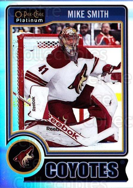 2014-15 O-Pee-Chee Platinum Rainbow #126 Mike Smith<br/>2 In Stock - $3.00 each - <a href=https://centericecollectibles.foxycart.com/cart?name=2014-15%20O-Pee-Chee%20Platinum%20Rainbow%20%23126%20Mike%20Smith...&quantity_max=2&price=$3.00&code=712741 class=foxycart> Buy it now! </a>