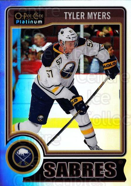 2014-15 O-Pee-Chee Platinum Rainbow #131 Tyler Myers<br/>2 In Stock - $3.00 each - <a href=https://centericecollectibles.foxycart.com/cart?name=2014-15%20O-Pee-Chee%20Platinum%20Rainbow%20%23131%20Tyler%20Myers...&quantity_max=2&price=$3.00&code=712746 class=foxycart> Buy it now! </a>