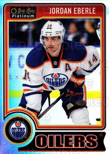2014-15 O-Pee-Chee Platinum Rainbow #136 Jordan Eberle<br/>1 In Stock - $3.00 each - <a href=https://centericecollectibles.foxycart.com/cart?name=2014-15%20O-Pee-Chee%20Platinum%20Rainbow%20%23136%20Jordan%20Eberle...&quantity_max=1&price=$3.00&code=712751 class=foxycart> Buy it now! </a>