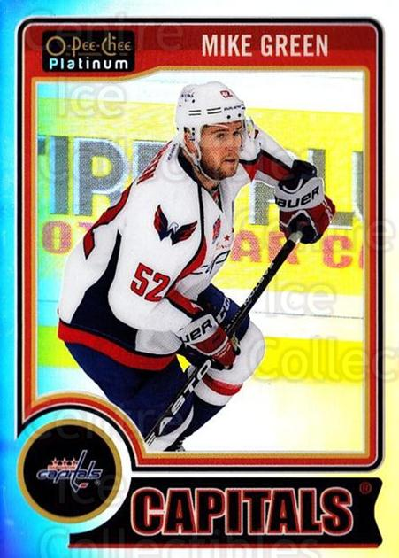 2014-15 O-Pee-Chee Platinum Rainbow #143 Mike Green<br/>2 In Stock - $3.00 each - <a href=https://centericecollectibles.foxycart.com/cart?name=2014-15%20O-Pee-Chee%20Platinum%20Rainbow%20%23143%20Mike%20Green...&quantity_max=2&price=$3.00&code=712758 class=foxycart> Buy it now! </a>