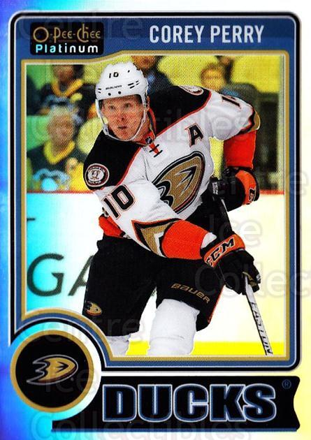 2014-15 O-Pee-Chee Platinum Rainbow #145 Corey Perry<br/>1 In Stock - $3.00 each - <a href=https://centericecollectibles.foxycart.com/cart?name=2014-15%20O-Pee-Chee%20Platinum%20Rainbow%20%23145%20Corey%20Perry...&quantity_max=1&price=$3.00&code=712760 class=foxycart> Buy it now! </a>