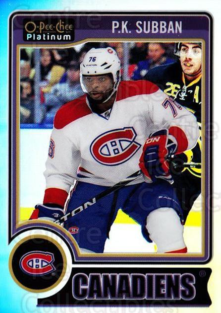 2014-15 O-Pee-Chee Platinum Rainbow #149 PK Subban<br/>2 In Stock - $3.00 each - <a href=https://centericecollectibles.foxycart.com/cart?name=2014-15%20O-Pee-Chee%20Platinum%20Rainbow%20%23149%20PK%20Subban...&quantity_max=2&price=$3.00&code=712764 class=foxycart> Buy it now! </a>