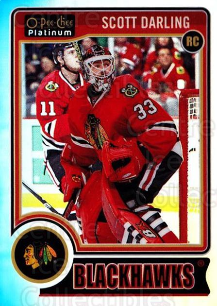 2014-15 O-Pee-Chee Platinum Rainbow #151 Scott Darling<br/>2 In Stock - $5.00 each - <a href=https://centericecollectibles.foxycart.com/cart?name=2014-15%20O-Pee-Chee%20Platinum%20Rainbow%20%23151%20Scott%20Darling...&quantity_max=2&price=$5.00&code=712766 class=foxycart> Buy it now! </a>