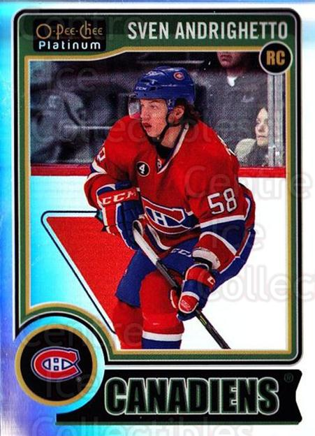 2014-15 O-Pee-Chee Platinum Rainbow #154 Sven Andrighetto<br/>2 In Stock - $5.00 each - <a href=https://centericecollectibles.foxycart.com/cart?name=2014-15%20O-Pee-Chee%20Platinum%20Rainbow%20%23154%20Sven%20Andrighett...&quantity_max=2&price=$5.00&code=712769 class=foxycart> Buy it now! </a>
