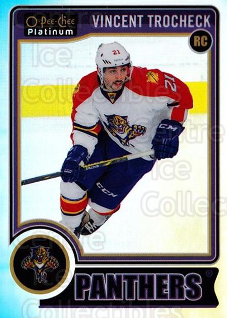 2014-15 O-Pee-Chee Platinum Rainbow #155 Vincent Trocheck<br/>2 In Stock - $5.00 each - <a href=https://centericecollectibles.foxycart.com/cart?name=2014-15%20O-Pee-Chee%20Platinum%20Rainbow%20%23155%20Vincent%20Trochec...&quantity_max=2&price=$5.00&code=712770 class=foxycart> Buy it now! </a>