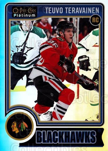 2014-15 O-Pee-Chee Platinum Rainbow #157 Teuvo Teravainen<br/>2 In Stock - $5.00 each - <a href=https://centericecollectibles.foxycart.com/cart?name=2014-15%20O-Pee-Chee%20Platinum%20Rainbow%20%23157%20Teuvo%20Teravaine...&quantity_max=2&price=$5.00&code=712772 class=foxycart> Buy it now! </a>