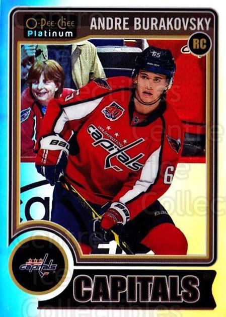 2014-15 O-Pee-Chee Platinum Rainbow #163 Andre Burakovsky<br/>2 In Stock - $5.00 each - <a href=https://centericecollectibles.foxycart.com/cart?name=2014-15%20O-Pee-Chee%20Platinum%20Rainbow%20%23163%20Andre%20Burakovsk...&quantity_max=2&price=$5.00&code=712778 class=foxycart> Buy it now! </a>