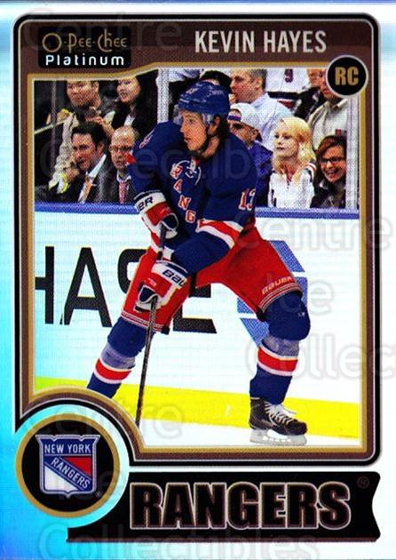 2014-15 O-Pee-Chee Platinum Rainbow #178 Kevin Hayes<br/>2 In Stock - $5.00 each - <a href=https://centericecollectibles.foxycart.com/cart?name=2014-15%20O-Pee-Chee%20Platinum%20Rainbow%20%23178%20Kevin%20Hayes...&quantity_max=2&price=$5.00&code=712793 class=foxycart> Buy it now! </a>