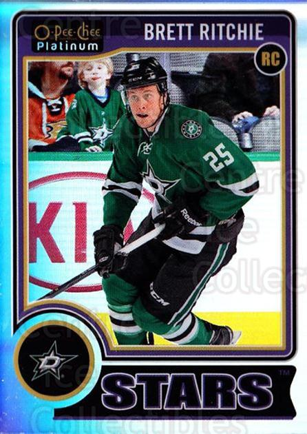 2014-15 O-Pee-Chee Platinum Rainbow #180 Brett Ritchie<br/>2 In Stock - $5.00 each - <a href=https://centericecollectibles.foxycart.com/cart?name=2014-15%20O-Pee-Chee%20Platinum%20Rainbow%20%23180%20Brett%20Ritchie...&quantity_max=2&price=$5.00&code=712795 class=foxycart> Buy it now! </a>